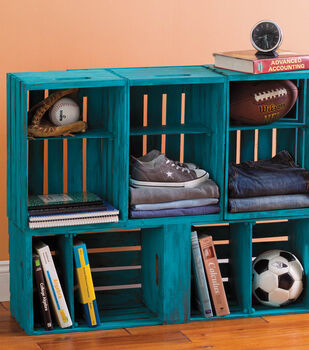 Crates Shelving Unit