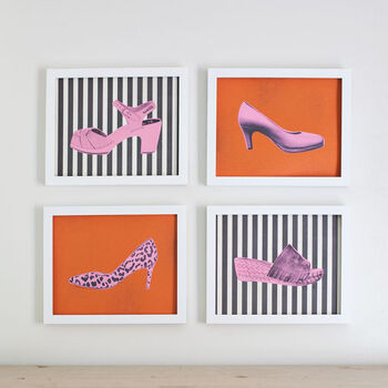 Transform Your Shoe Collection Into Pop Art