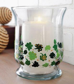Lucky Shamrock Candle Globe