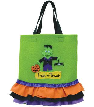 Halloween Ruffled Tote Bag