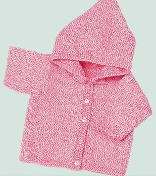 Pretty in Pink Baby Sweater