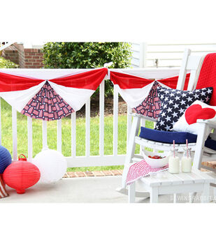 Patriotic Flag Bunting DIY