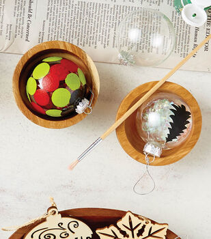 How To Create Painted Glass Ornaments