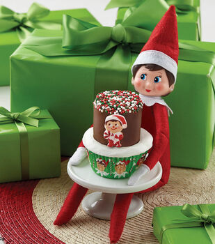 The Elf on the Shelf Cupcakes