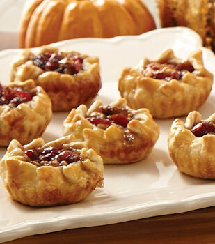 Cranberry Pecan Tartlets