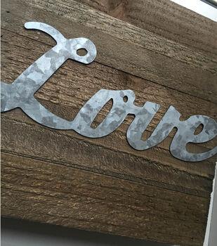 Love Wood Home Décor