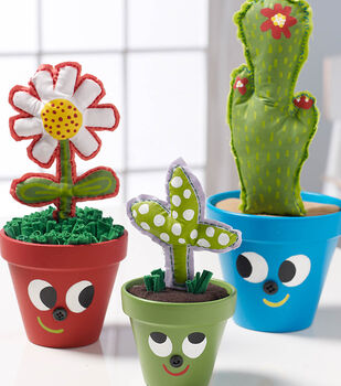 How To Make Recycled Flower Pot Buddies