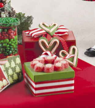 Candy Decorated Gift Boxes