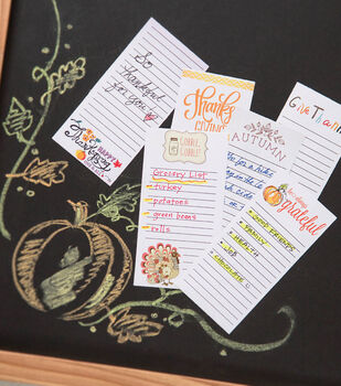 How To Make Scrapbook/Journal Grateful Notes