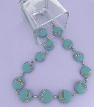 Banded Lentils Necklace
