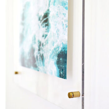 Floating Acrylic Frame DIY