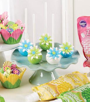 Flower Bomb Cake Pop