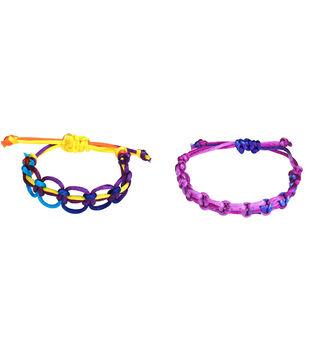 Open Square Knot Macrame Bracelets