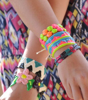 How To Make Puffy Bracelets