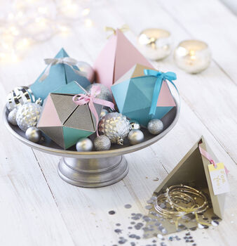 Makers Guide: Geo Box Gift Wrap
