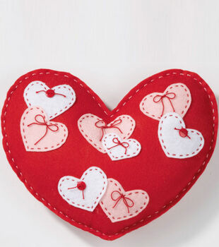 Felt Heart Pillow