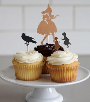 Creativebug-Cricut Crafts: Make Halloween Cupcake Toppers