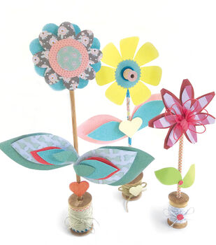 How To Create Spool Turning Flowers