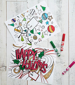 Holiday Character Printables