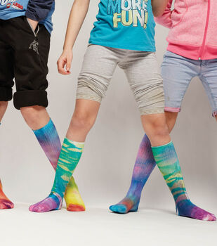 Spray Dye Socks