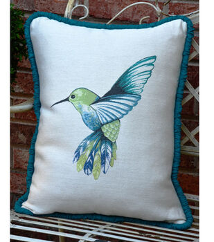 Square By Design® Pillow with Gathered Piping