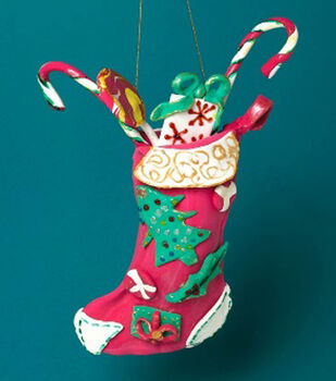 Learn to make Christmas Door Stocking