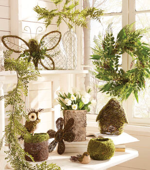 Floral Moss Wreath