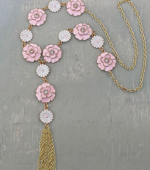 how to make a flower child necklace handmade jewelry design ideas - Handmade Jewelry Design Ideas