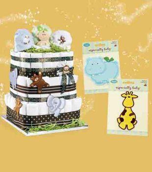 Diaper Arrangement Gift Box