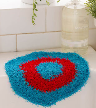 Hexagon Crochet Dishcloth