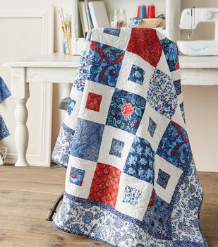 Red, White and Blue Quilt