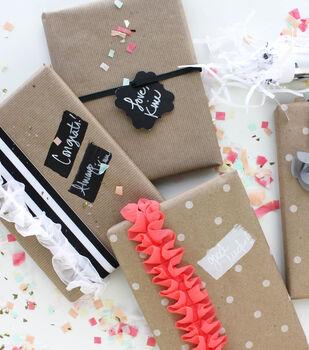 Idea Market Chalkboard Gift Wrap