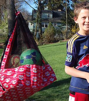 How To Make A MLS Soccer Ball Bag
