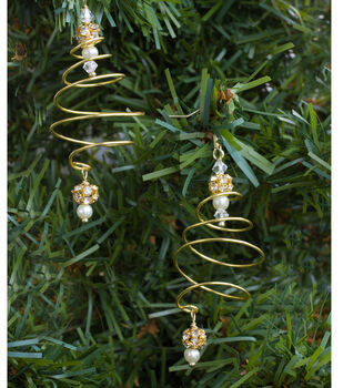 How To Make Spiral Tree Earrings