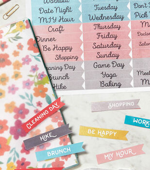 Printable Organizer Labels
