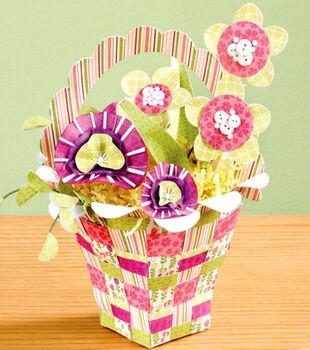 Flower Shower Woven Basket