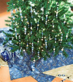 Kaleidoscope Tree Cape & Ornaments