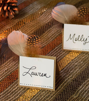 Feather Name Cards