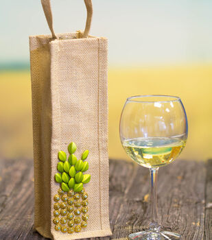 How To Make A Pineapple Wine Gift Bag