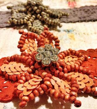 Flower Tie Dye Bracelet