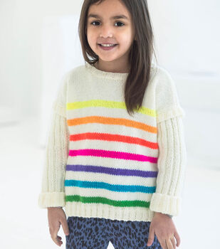 How To Make A Bright Stripes Pullover