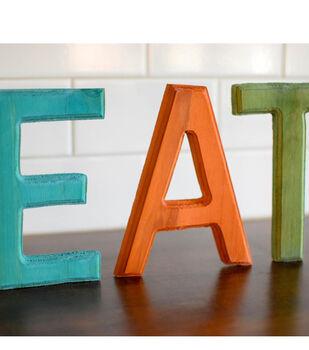 Idea Market Dyed Wood Letters
