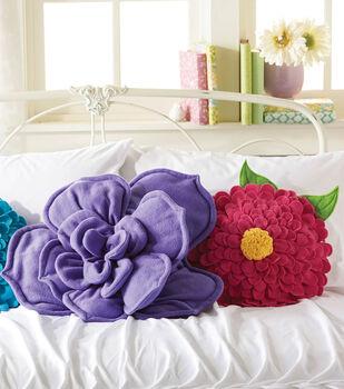 Fleece Flower Pillows