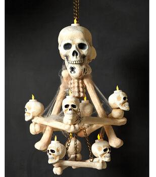 Skulls and Bones Chandelier