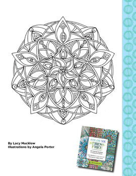 Color Me Stress Free Coloring Book Printable
