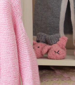 Baby Fuzzy Wuzzy Bunny Booties