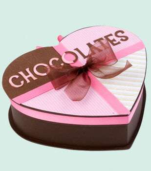 Heart-Shaped Chocolates Box