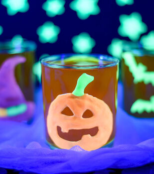 How To Make Pumpkin Glow Clings
