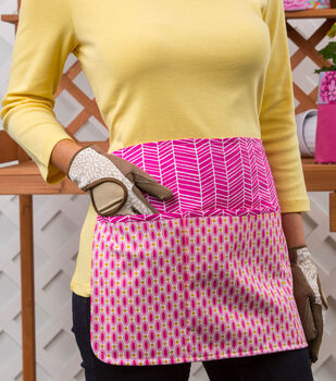 How To Make A  Pick-a-Pocket Apron