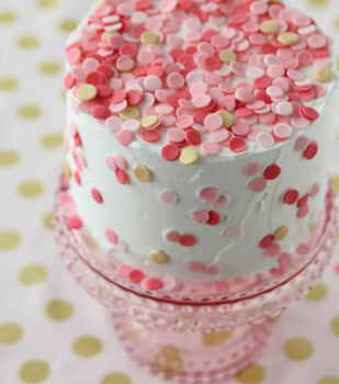 Make Your Own Confetti Cake